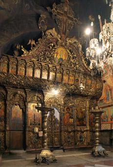 Иконостас, Преображенски манастир