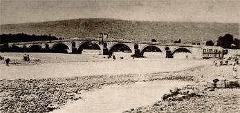 Мостът над р. Росица до Севлиево