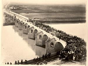 Мостът над р. Янтра до гр. Бяла, на пътя Русе -Търново