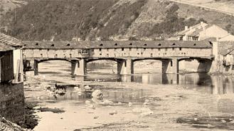 Покритият мост над р. Осъм Ловеч